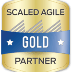 Scaled Agile Inc. Gold Partner Badge